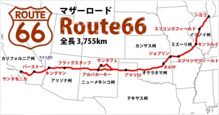 Map-route66